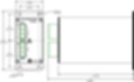 OnFILTER' Servo Motor / VFD Filter SF20031 Dimensions