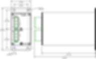 OnFILTER' Servo Motor / VFD Filter SF20101 Dimensions