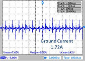 Ground current without the filer