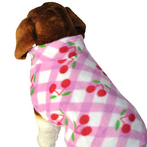 Pink Cherry Fleece