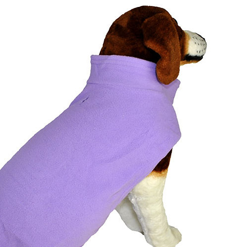 Lavender Fleece Vest