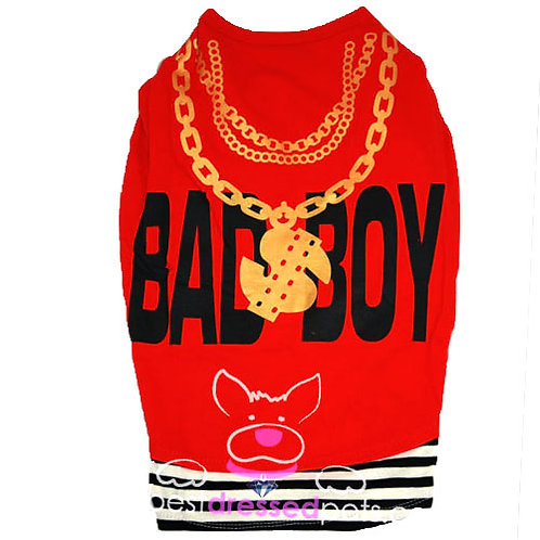 Bad Boy Red & Black T-Shirt