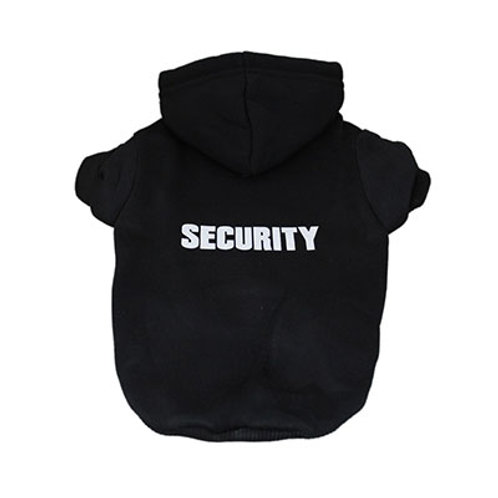 SECURITY Dog Hoodie (Black)