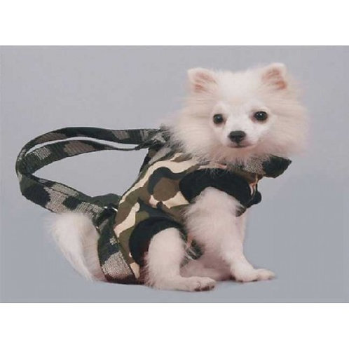 Army Print Dog Carrier