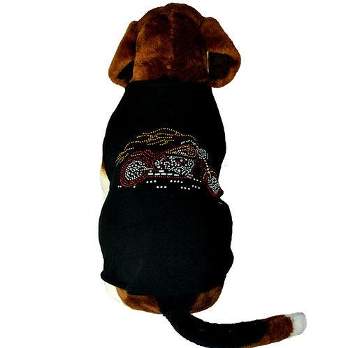 Black Motorcycle Diamond T-Shirt