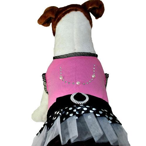 Pink Pearl Punk Rock Dress