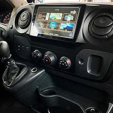 Einbau Navigation Dynavin Ford Wohnmobil