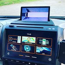 Einbau Navigation Dynavin Dynavision Kamerasystem Wohnmobil