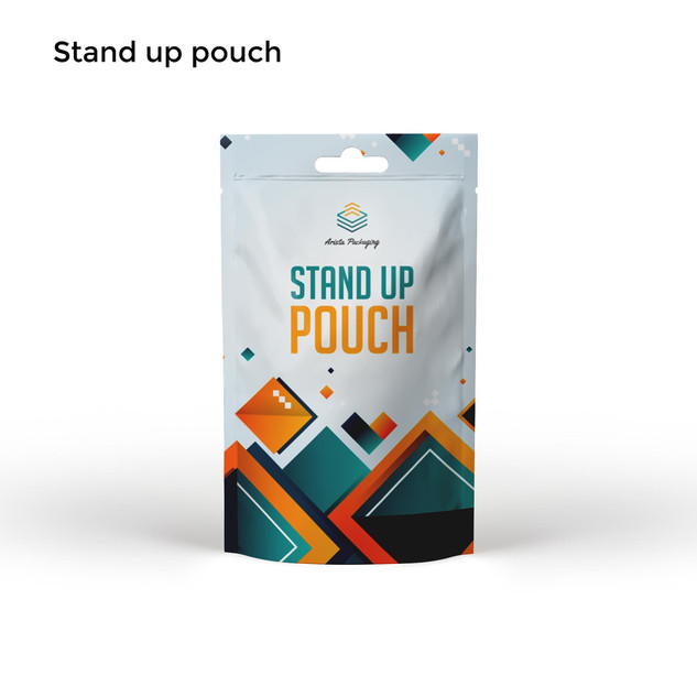 Plastic Stand Up Pouch