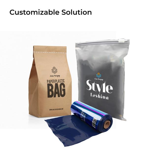 Custom Plastic Bags with Logo