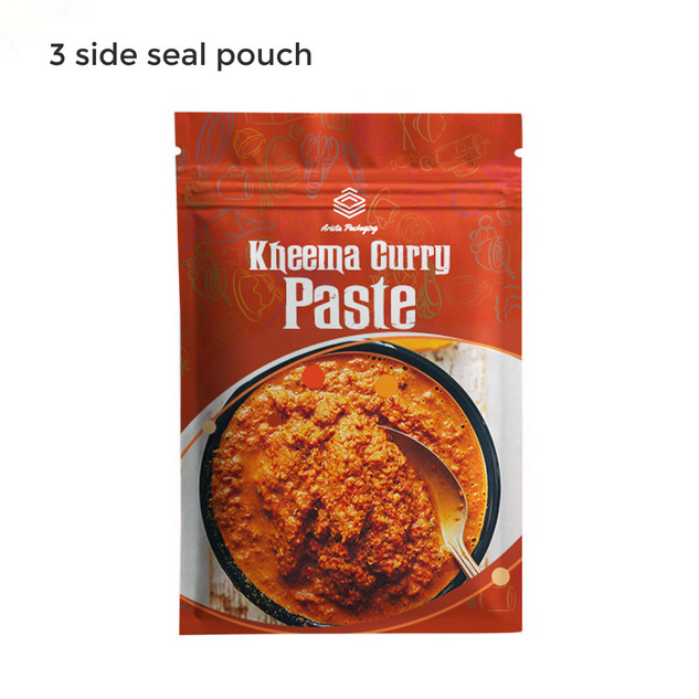 3-Side Seal Pouches