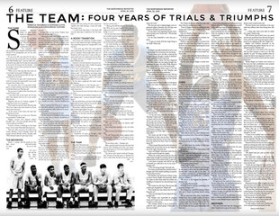 THE TEAM: Four years of trials and triumphs