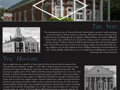 HISTORICAL WRITE-UP: Lincoln Normal School