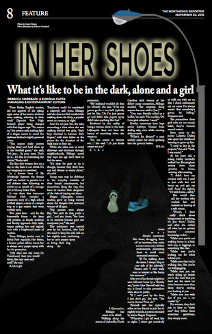 IN HER SHOES: What it's like to be alone, in the dark, and a girl