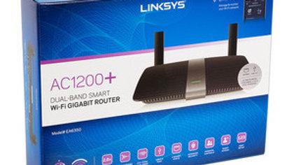 Router inalámbrico Smart Wi-Fi AC1200+ Linksys EA6350