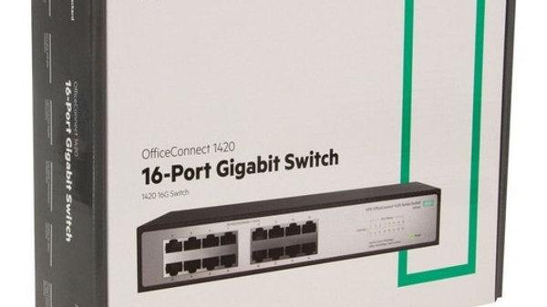 Switch HP JH016A IVA incluido  Switch HPE 1420 16G