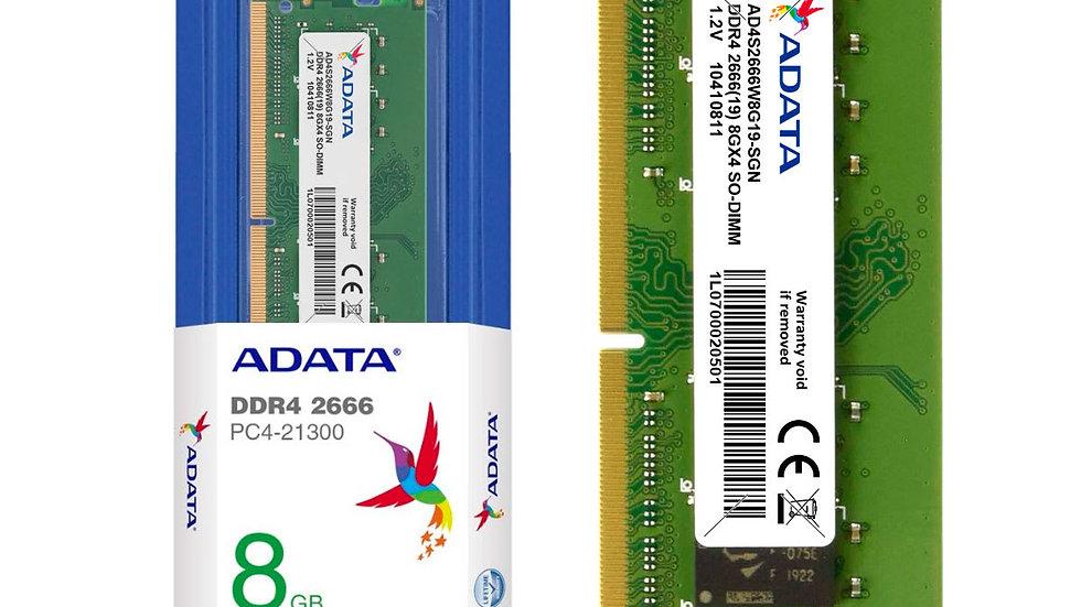 MEMORIA RAM DDR4 2666 8GB PORTATIL
