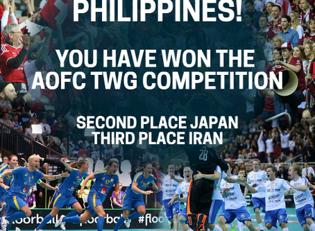AOFC WIN A RINK FOR YOUR COUNTRY RESULTS