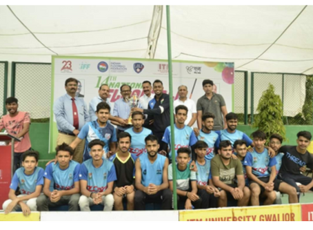 24 TEAMS IN THE 14TH NATIONAL FLOORBALL CHAMPIONSHIPS IN INDIA