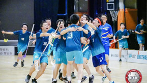 FIRST NATIONAL FLOORBALL CHAMPIONSHIP FOR YOUTH PLAYERS HELD IN SHANGHAI