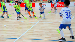 FIRST NATIONAL FLOORBALL CHAMPIONSHIP FOR YOUTH PLAYERS HELD IN JINTANG,SICHUAN,CHINA