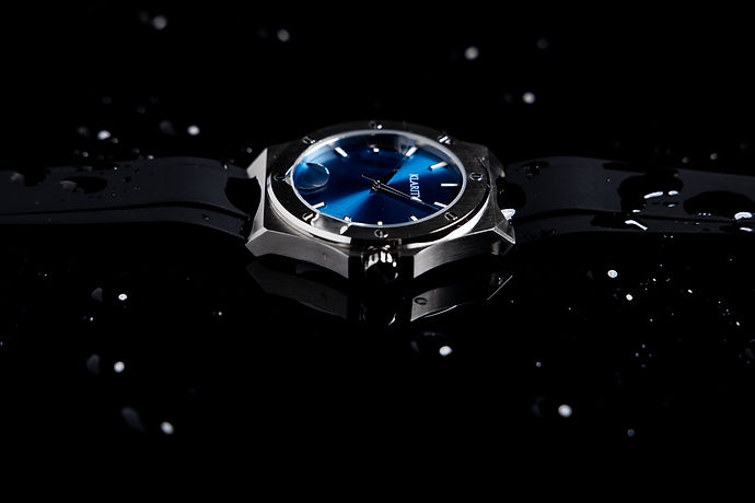 Watch product photography 1
