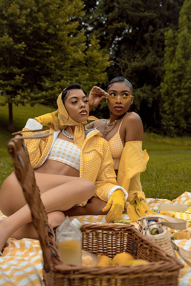 Yellow Aesthetic Picnic