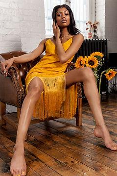 dreamstoryproduction.com mustard yellow dress