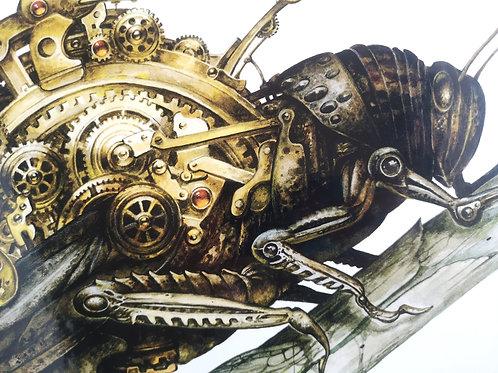 """Séverine Pineaux """"Le grillon mécanique"""""""