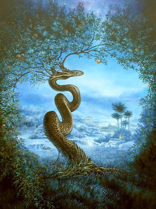 """Séverine Pineaux """"L'arbre du jardin d'Eden"""""""