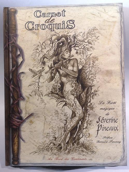 """Séverine Pineaux """"Carnet de croquis"""""""