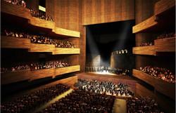 Ópera de Busan planta