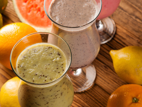 A Protein Shake to Put Some Pep in your Step!