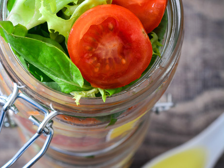 Spring Salad-in-a-Jar