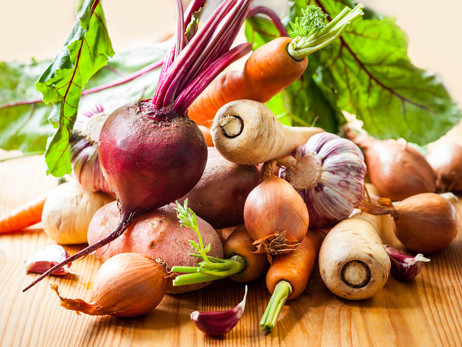 Staying Relaxed and Warm With Root Veggies!