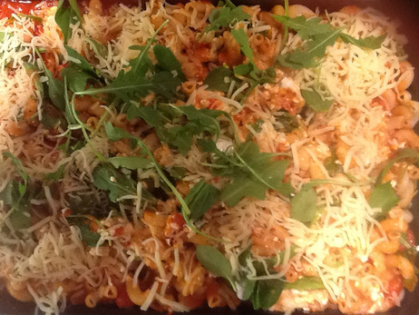 Meatless Monday Baked Pasta