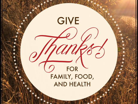 Tips For  A Healthier Thanksgiving Tradition!