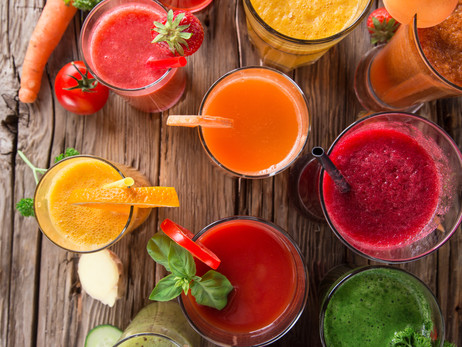 Healthy Springtime Beverages