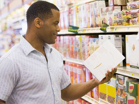 At the Grocery Store: Reading Nutrition Labels