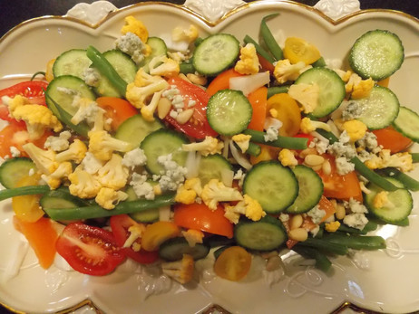A New Twist on The French Green Bean Salad!