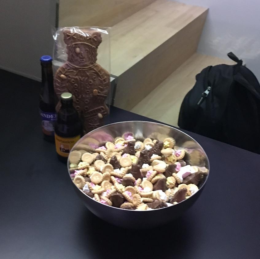 Snoepgoed van de Sint