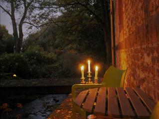Een gezellige avond aan de beek !!