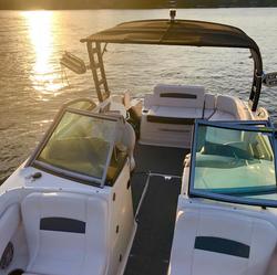 Lake Norman Club Ski Boats