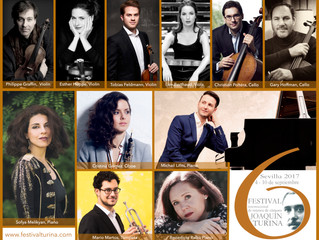 Ayay, what a bunch of wonderful musicians coming to Seville in September.