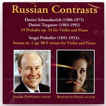CDcover Russian Contrasts Benedicte Palko