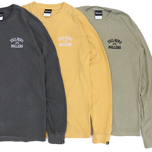 ROLLERS Garment Dyed L/S Tee