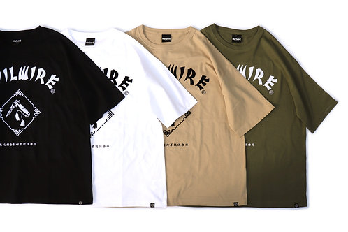 【CHINA KNIF】loose-fitting silhouette Tee