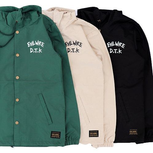 DTK Hooded Windbreaker Coaches Jacket