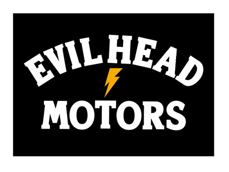 EVILWIRE×BLOCK HEAD MOTORSコラボアパレル【EVIL HEAD MOTORS】ついにリリース!