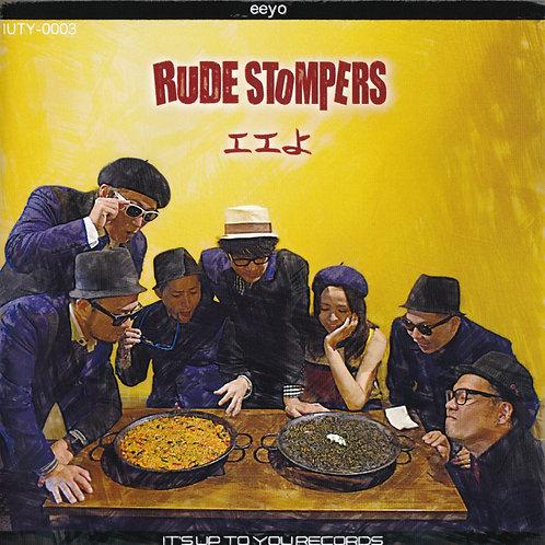"""RUDE STOMPERS - エエよ / ギリギリじゃなキマグレじゃない (7""""+CDR)"""